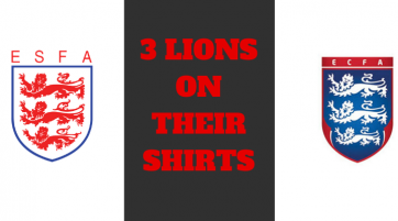 3 Lions on Their Shirts