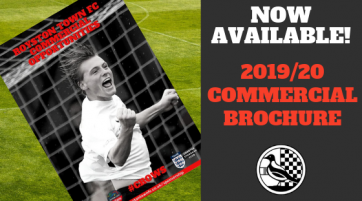 Royston Town FC 2019-20 Commercial Brochure